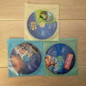 即決 依頼 ディズニー DVD 3点セット 国内正規品 未再生 このセットのみ