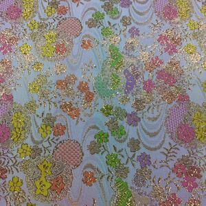 [新品]西陣織 金襴 生地 はぎれ 和柄 京都 70×30