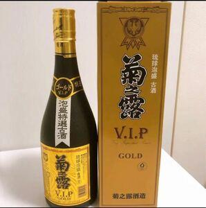 琉球泡盛 菊の露 VIPGOLD 古酒 沖縄泡盛