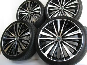 新品タイヤ,美品 8j9j 20インチ! ロクサーニ クラウン マジェスタ アテンザ レクサス GS マークX アルファード ヴェルファイア エスティマ