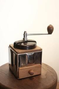 極上!PEUGEOT プジョー コーヒーミル Peugenox 極上 ブロカント 古道具 キッチン雑貨 カフェ フランス アンティーク.
