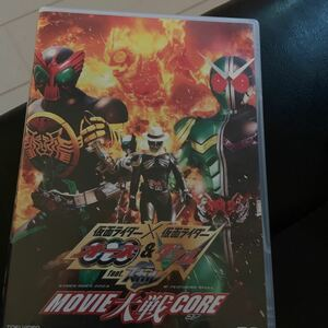 仮面ライダーオーズ&仮面ライダーダブルfeat.スカル  Movie大戦Core DVD