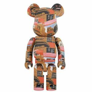 即日発送可能新品BE@RBRICK Andy Warhol × JEAN-MICHEL BASQUIAT #2 1000% MEDICOM TOY ベアブリック kaws カウズ バスキア Keith Haring