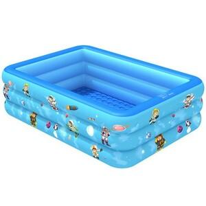 子供用プール キッズプール 大型 家庭用 ビニールプール 暑さ対策 厚く 室内 室外 厚く 漏れ防止 水遊びに大活躍 親子遊び