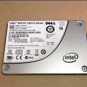 送料込 Intel SSD DC S3610 400GB HET-MLCチップ SATA 2.5inch 高耐久 データセンター