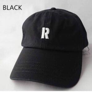 【新品】ロンハーマン Ron herman 人気ロゴキャップ。ブラック。