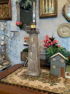 アンティークなデザインランプ/type.5/ 灯台型ランタンランプ/ オーナメントランプ/ インテリア装飾 #店舗什器 #ポジションニングランプ