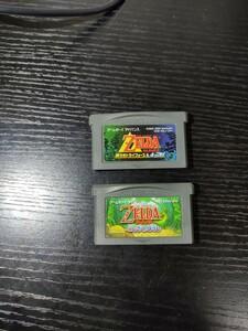 ゲームボーイアドバンスソフト GBA ゼルダの伝説 ふしぎのぼうし 神々のトライフォース