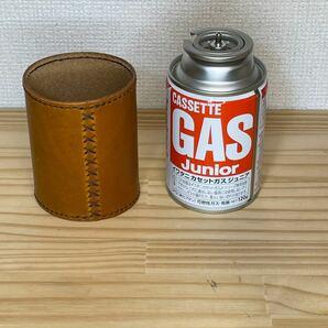 【ヌメ革】本革ガス缶カバー CB缶カバー ジュニアCB缶カバー SOTO snowpeak