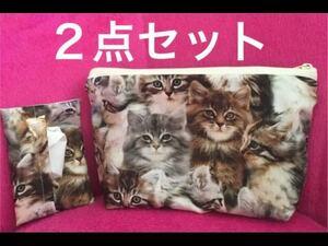 ネコ柄ポーチ 猫柄ポーチ ねこ柄ポーチ 猫柄ティッシュケース ティッシュケース 外出用品