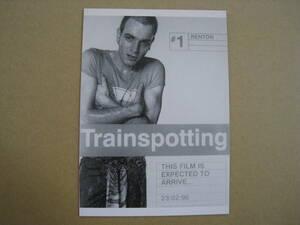 未使用品 Trainspotting トレインスポッティン イギリス映画 1996年 グユアン・マクレガー主演 ダニー・ボイル監督 ポストカード