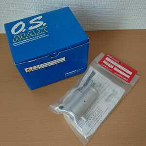 絶版 希少 新品 未使用 O.S.MAX 15LD 11545 + E-1000 サイレンサー 21325000 セット エンジン ラジコンカー TGX TG10 スーパー10