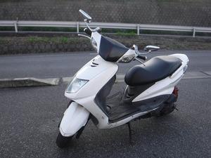 シグナス125X 1型 LPRSE 書類・鍵付き 実働 ベース車⑧ 格安 売り切り 台湾仕様 白