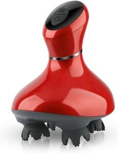 電動ブラシレッド版 防水 USB充電式 2段階スピード 10分タイマー