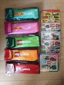 アサヒ飲料 トミカ・プラレール 保冷バック5種類&トミカ パズル5種類 セット
