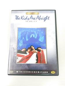 ●【中古DVD】「The Kids Are Alright(ザ・キッズ・アー・オールライト)」 THE WHO ザ・フー ライブドキュメンタリー[管]B2