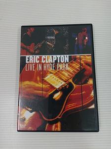 ●【中古DVD】「ERIC CLAPTPN LIVE IN HYDE PARK」 エリック・クラプトン ミュージック ライブ [管]B2