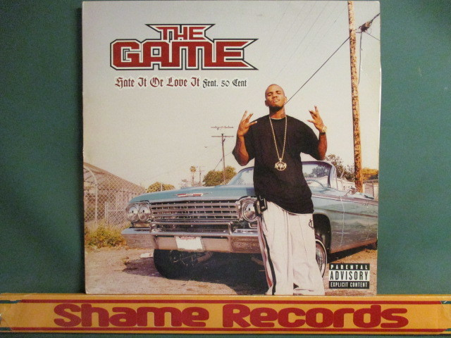 The Game : Hate It Or Love It 12'' // Tramps - Rubberband 使い! / 落札5点で送料無料