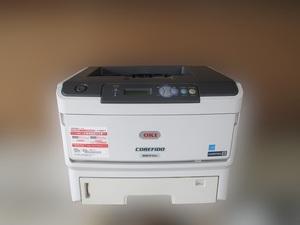 *OKI A3 соответствует монохромный LED принтер COREFIDO B841dn* б/у * общий печать листов число 22832 листов * печать знак хороший *COREFIDO2*