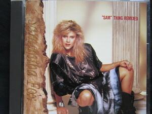 """SAMANTHA FOX / """"SAM""""THING REMIXED '87年国内盤!!""""サム""""シング・リミックスト サマンサフォックス 80's エイティーズ ディスコ"""