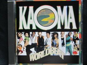 KAOMA / WORLDBEAT カオマ ワールド・ビート ~ ランバダ 歌詞対訳付国内盤!! 80's エイティーズ
