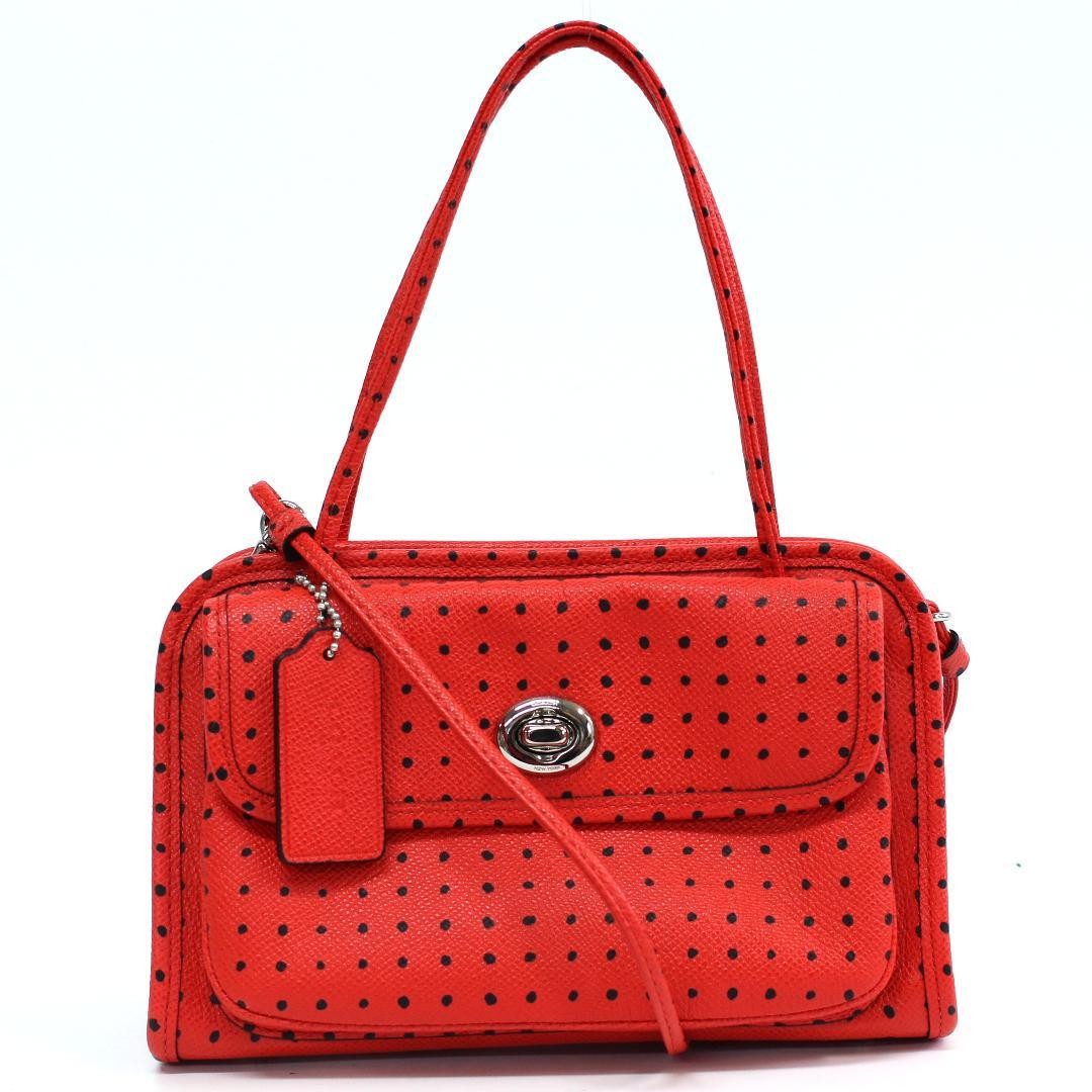 Shindo Coach 34471 Двухсторонняя кожаная сумка через плечо I937 Сумка, сумка и женские сумки