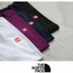 THE NORTH FACE ボックスロゴデザイン半袖Tシャツ