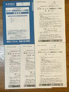 大学入試センター試験 高校生レベル模試  東進ハイスクール