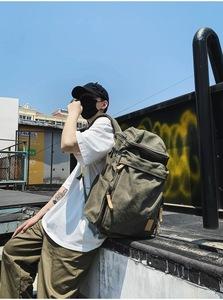 バックパック リュックサック 大容量 山登り 学生カバン 多機能 キャンプ用リュック 防災バッグ 海外旅行に適用(緑)