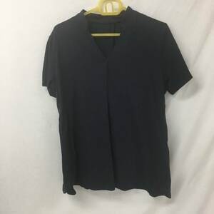 NURSERY ナースリー ポロシャツ 黒 ブラック LLサイズ レディース 02