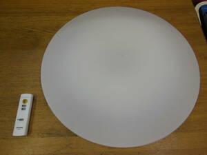 【中古】 アイリスオーヤマ LEDシーリングライト 照明器具 CL6D-5.0 リモコン付き ③