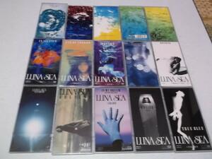 ) ルナシー LUNA SEA & 河村隆一 【 8cmシングルCD 15枚セット 】 美品♪