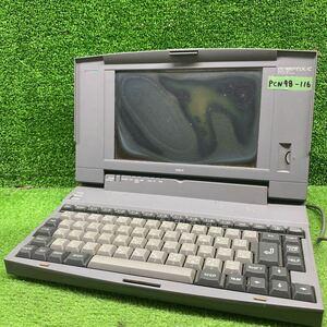 PCN98-116 激安 PC98 ノートブック NEC PC-9801MX/C 通電不可 ジャンク