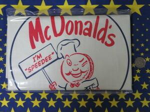 8590 マクドナルド ビッグスマイルバッグ かばん 福袋 50周年グッズ BIG SMILE BAG ビッグスマイル