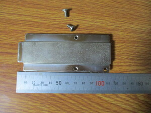 1..NEC PC9801 RX2 後部パネル  金具 ネジ付き..パーツ..部品