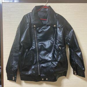 レザージャケット 革ジャン レディース 大きいサイズ 4XL