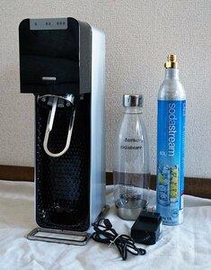 全自動モデル 最上位機種 SodaStream SOURCE POWER ソーダストリーム ソース パワー ブラック