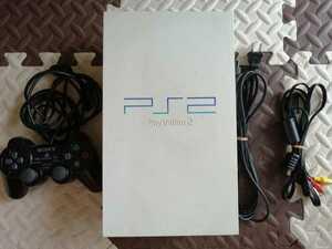 極美品 日焼け無し SONY/ソニー SCPH-55000GT プレイステーション2 PlayStation2 プレステ2 PS2 本体 ゲーム機 動作確認済み