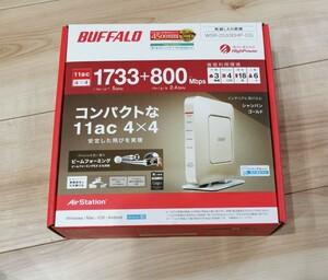 新品未開封 延長保証 BUFFALO WSR-2533DHP-CG  無線LAN