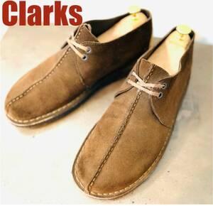 【即決】【美品】Clarks クラークス デザートトレック 28cm