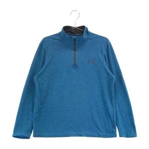 【即決】UNDER ARMOUR アンダーアーマー ハーフジップ 長袖 Tシャツ ブルー系 MD [240001555255] ゴルフウェア メンズ
