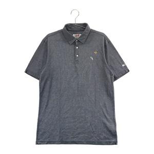 MASTER BUNNY EDITION マスターバニーエディション 158-8160507 半袖ポロシャツ ネイビー系 6 [240001584571] ゴルフウェア メンズ