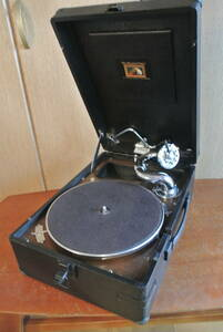 HMV102蓄音機 sp盤 蓄音器 ビクター ビクトローラ 昭和レトロ 蓄音機