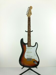 Fender Japan◆エレキギター/ストラトタイプ/サンバースト系/SSS/ST-43/2002年~2004年/J-CRAFT