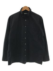 CLANE HOMME◆19SS/STAND COLLAR SHIRT/スタンドカラーシャツ/長袖シャツ/1/コットン/ネイビー