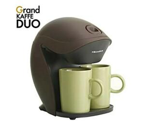 未使用コーヒーメーカー 1-2人用 レコルト グランカフェデュオ