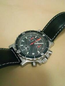チュチマ フィールドクロノグラフ ミリタリー ドイツ 時計