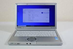 Panasonic CF-NX3/ Core i3-4010U/メモリ4GB/高速SSD 128G/12.1インチ/Windows10 64bit/中古ノートパソコン