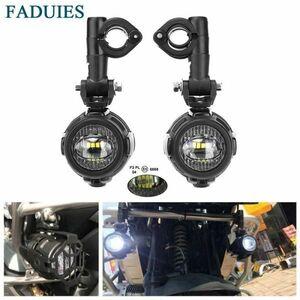 仰天♪Faduiesバイク用フォグランプbmwオートバイled補助フォグライトドライビングランプbmw R1200GS/adv K1600 R1200GS r1100GS