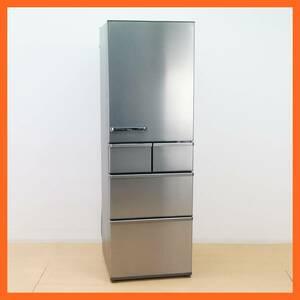 【アクア】5ドア 冷凍冷蔵庫 415L AQR-SV42H (S) 2019年 チタニウムシルバー 旬鮮フリーザー 旬鮮チルド ★送料無料★